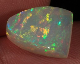 6.19CT~VERY BRIGHT WELO OPAL CAB~RIBBON PATTERN
