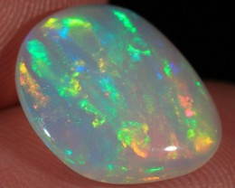 4.88CT~VERY BRIGHT WELO OPAL CAB~RIBBON PATTERN