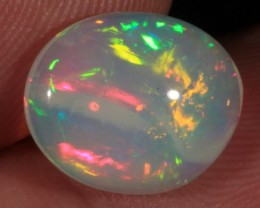 2.90CT~VERY BRIGHT WELO OPAL CAB~MIXED PATTERN