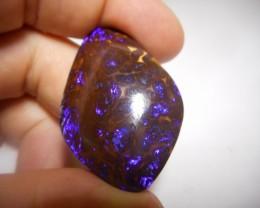 103.30ct Electric Boulder Matrix Specimen Polished Stone