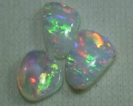 1.40 ct Multi Color Australian Coober Pedy Crystal Opal Parcel