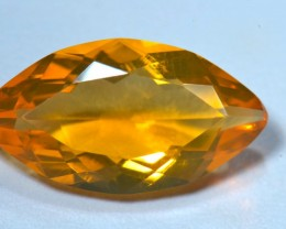 4.77ct No reserve Mango Mexican Fire Opal Faceted