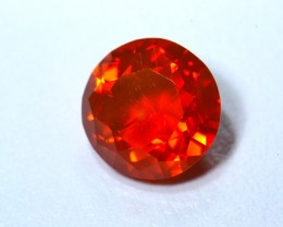 1.97ct No reserve Jelly Mexican Fire Opal Faceted