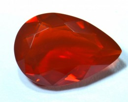 4.19ct No reserve Cherry Mexican Fire Opal Faceted