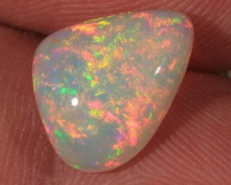 3.11CT~BRILLIANT ETHIOPIAN WELO OPAL CAB~FLORAL PATTERN