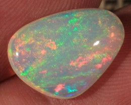 3.42CT~VERY BRIGHT ETHIOPIAN WELO OPAL CAB~SHEEN PATTERN