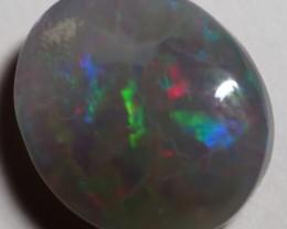3.25CT SOLID SEMI BLACK LIGHTING RIDGE OPAL GM461
