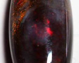 4.50CT SOLID SEMI BLACK LIGHTING RIDGE OPAL GM468