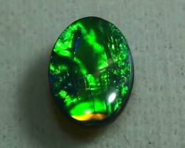 0.80 ct Doublet Opal With Gem Green Color