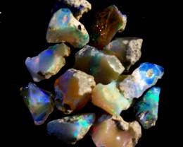 NR Parcel  Rough Wello Opals    Cts.36.0    RL 502    13  Stones