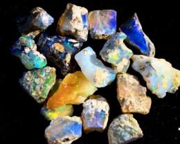 Parcel  Rough Wello Opals    Cts.38.30    RL 503    17  Stones
