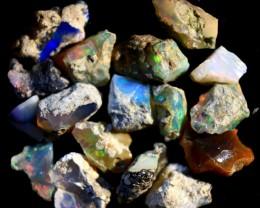 Parcel  Rough Wello Opals    Cts. 45.25   RL 506    17  Stones