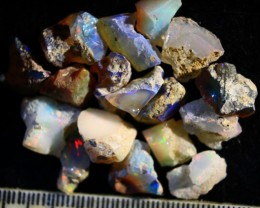 Parcel  Rough Wello Opals    Cts.47.80    RL 509    17  Stones
