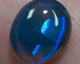 BLACK OPAL LIGHTNING RIDGE SOLID 1.45ct GEM $1 N/R AUC BOPC2011