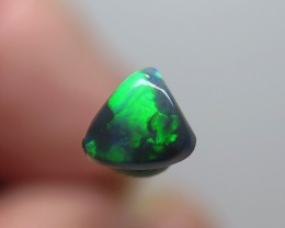 0.40Ct Lightning Ridge Black Opal stone