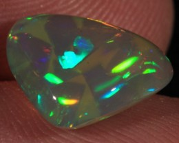 2.6CT EXTREME DARK BASE WELO OPAL WTH UNIQUE CELLED PATTERN!