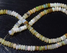 70.75 Ct Natural Ethiopian Welo Opal Beads Play Of Color