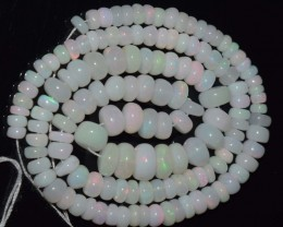 67.80 Ct Natural Ethiopian Welo Opal Beads Play Of Color