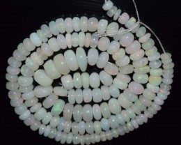 66.80 Ct Natural Ethiopian Welo Opal Beads Play Of Color
