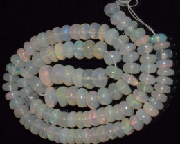 58.45 Ct Natural Ethiopian Welo Opal Beads Play Of Color