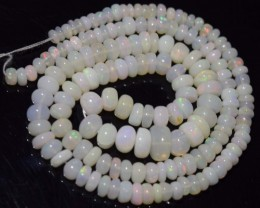 58.70 Ct Natural Ethiopian Welo Opal Beads Play Of Color