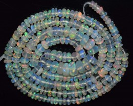 30.15 Ct Natural Ethiopian Welo Opal Beads Play Of Color