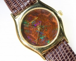 Ladies Exceptionale Opal Watch full face Opal QOM1682