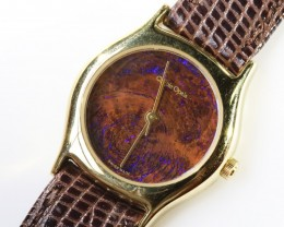 Ladies Exceptionale Opal Watch full face Opal QOM1684
