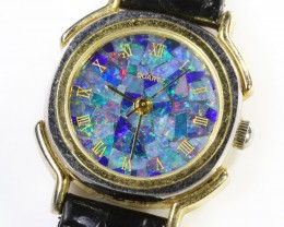 LadiesMosaic Opal Watch full face Opal QOM1686