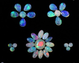 one carat Crystal Opals  South Australian  Opal QOM 1689