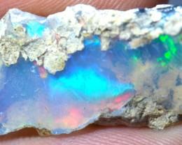 11.38ct Rough Solid Wello Opal Colorful Collectors Specimen
