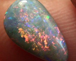 Lightning Ridge Solid Semi Black Opal Stone 1.14ct