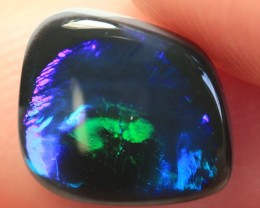 Lightning Ridge Solid Black Opal Stone 2.09ct