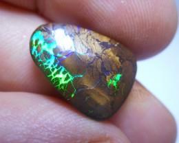 10.5ct Gem Flash Boulder Matrix Polished Stone