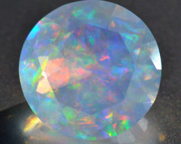4.50ct No Reserve Stunning Mexican Faceted Opal