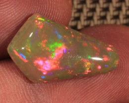 5.60CT~BRILLIANT 5/5 DARK BASE WELO OPAL CAB