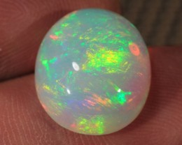8.26CT~BRILLIANT WELO OPAL CAB~FULL SATURATION OF FIRE!