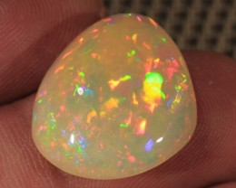 12.67CT~BRILLIANT 5/5 WELO OPAL CAB~PUZZLE PATTERN