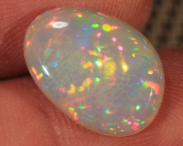 4.90CT~BRILLIANT 5/5 WELO OPAL CAB~ MICRO HONEYCOMB/RAINBOW PRISM