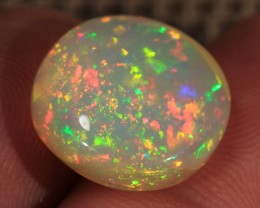7.22CT~BRILLIANT 5/5 WELO OPAL CAB~PINFIRE/RIBBON PATTERN!