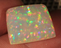 11.43CT~BRILLIANT 5/5 WELO OPAL CAB~RAINBOW PRISM