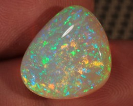 14.31CT~BRILLIANT 5/5 WELO OPAL CAB~RAIN FIRE FULL SATURATION!