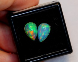 NR Auction ~ 2.47ct Pear 11x7mm Welo Opal Parcel Lot
