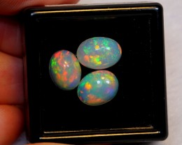 NR Auction ~ 3.52ct Oval Mix Size Welo Opal Parcel Lot