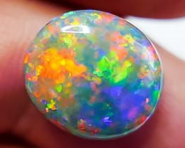 BLACK OPAL LIGHTNING RIDGE NATURAL SOLID 6.05ct GEM BLA251117