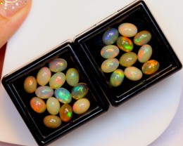 NR Auction ~ 12.05ct Oval 7x5mm Welo Opal Parcel Lot