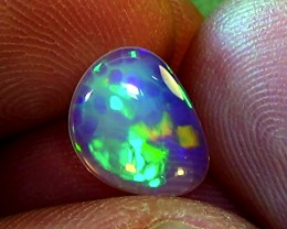 1.60 ct Ethiopian Welo CELLS crystal opal N9 4/5