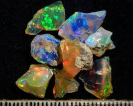 Parcel  Rough Wello Opals  Tot.Cts.9.60    RL619 8 Stones