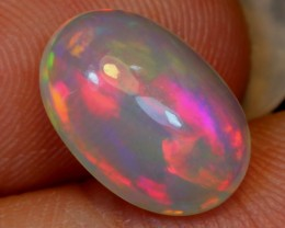 1.92ct Pink Color Play Ethiopian Welo Polished Opal
