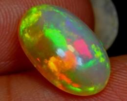 NR#  1.92Ct Pinkish Green Ethiopian Welo Opal